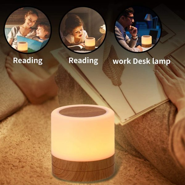 Rechargeable Portable Remote Controlled Touch Lamp Night Light_6