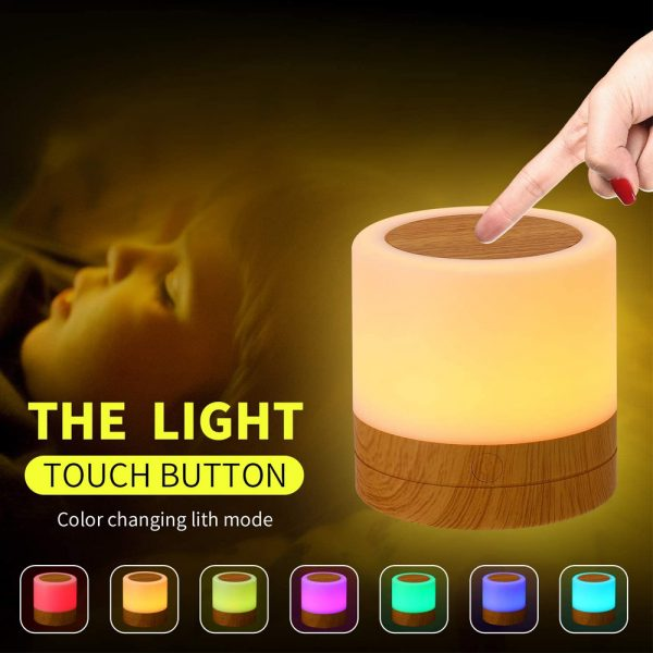 Rechargeable Portable Remote Controlled Touch Lamp Night Light_8