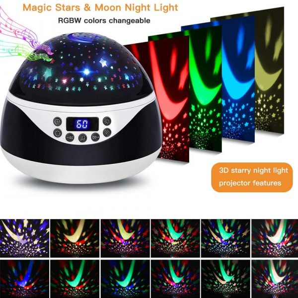 Rotating Projector Night Light with Music for Children's Bedroom_6