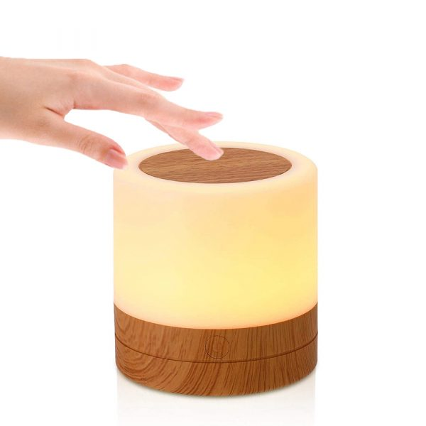 Rechargeable Portable Remote Controlled Touch Lamp Night Light_0
