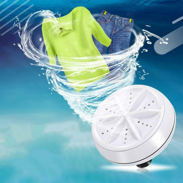 Automatic Cycle Cleaning Modes Personal Mini Turbo Washing Machine_0