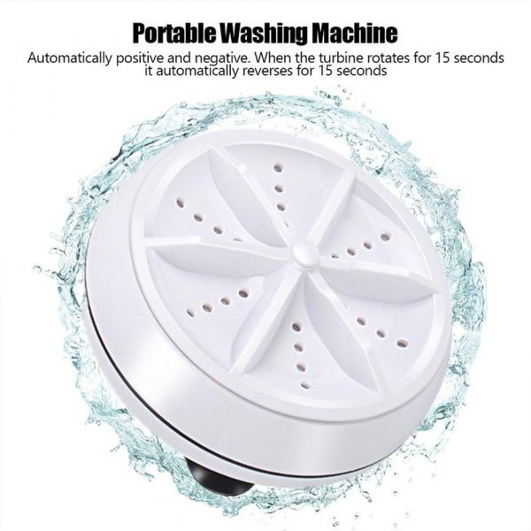 Automatic Cycle Cleaning Modes Personal Mini Turbo Washing Machine_5