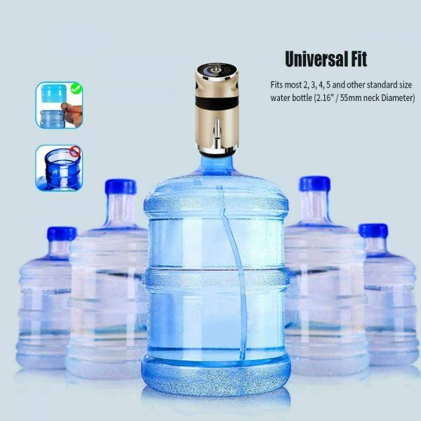 USB Charging Portable Electric Drinking Water Bottle Pump_16