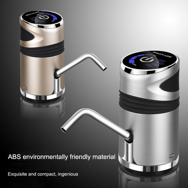 USB Charging Portable Electric Drinking Water Bottle Pump_6