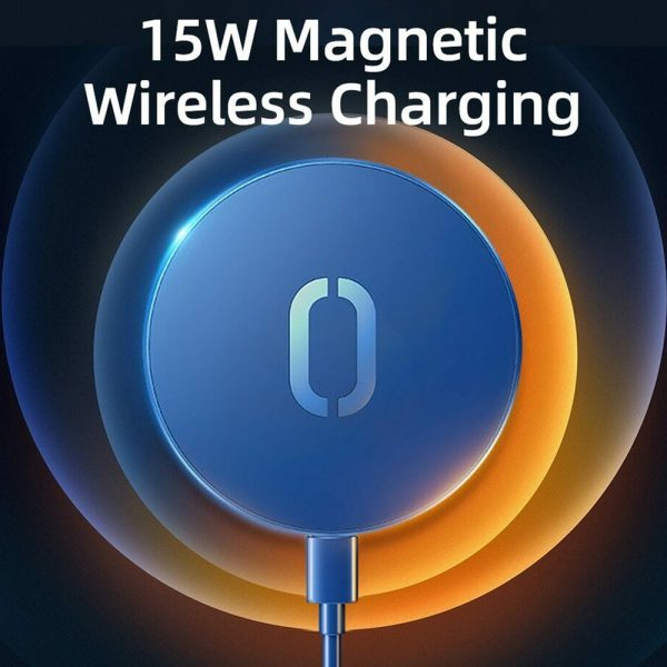 Fast Charging Wireless Magnetic Charger for iPhone 12 Series_6