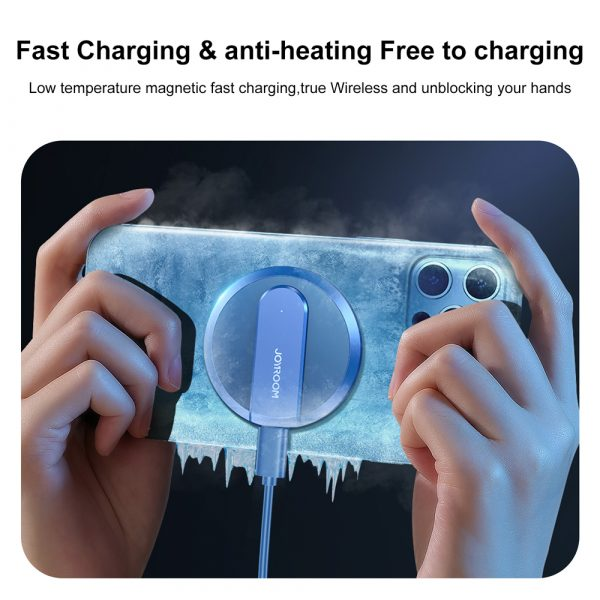 Fast Charging Wireless Magnetic Charger for iPhone 12 Series_14
