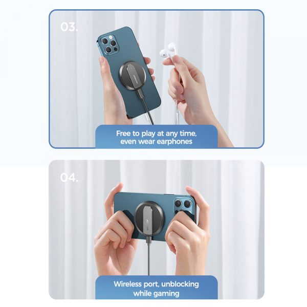 Fast Charging Wireless Magnetic Charger for iPhone 12 Series_9