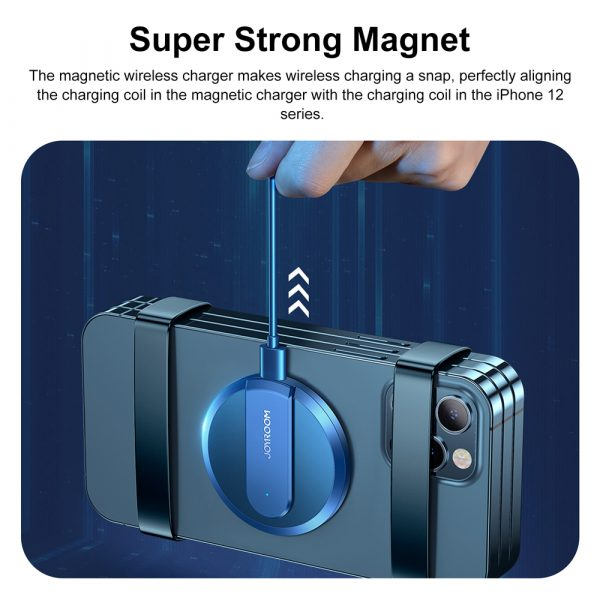 Fast Charging Wireless Magnetic Charger for iPhone 12 Series_10