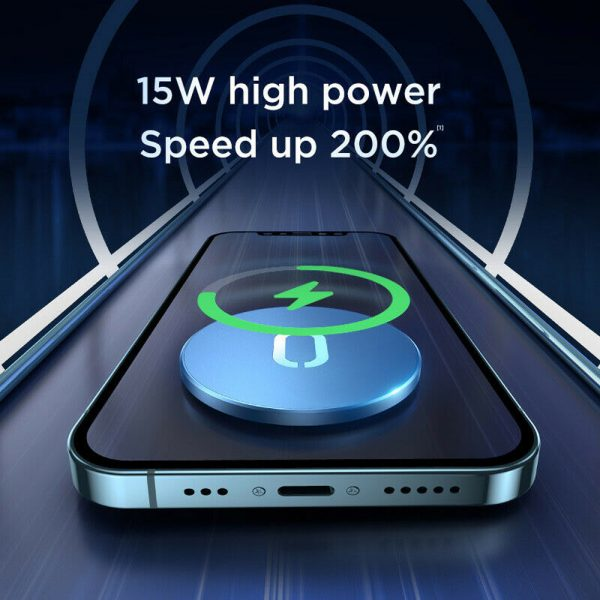 Fast Charging Wireless Magnetic Charger for iPhone 12 Series_11