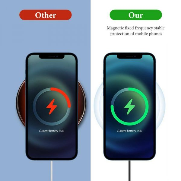 Fast Charging Wireless Magnetic Charger for iPhone 12 Series_12