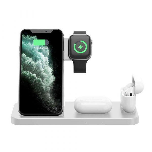 4-in-1 Wireless Fast Charging Desktop Charging Station for QI Devices_2