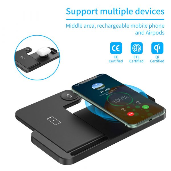 4-in-1 Wireless Fast Charging Desktop Charging Station for QI Devices_7
