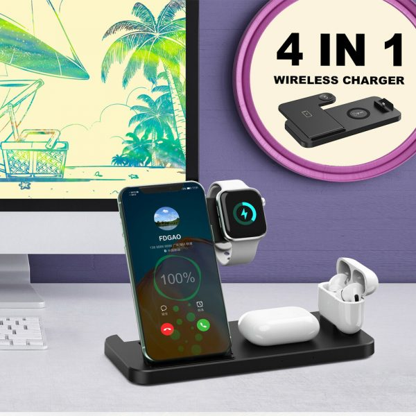 4-in-1 Wireless Fast Charging Desktop Charging Station for QI Devices_10