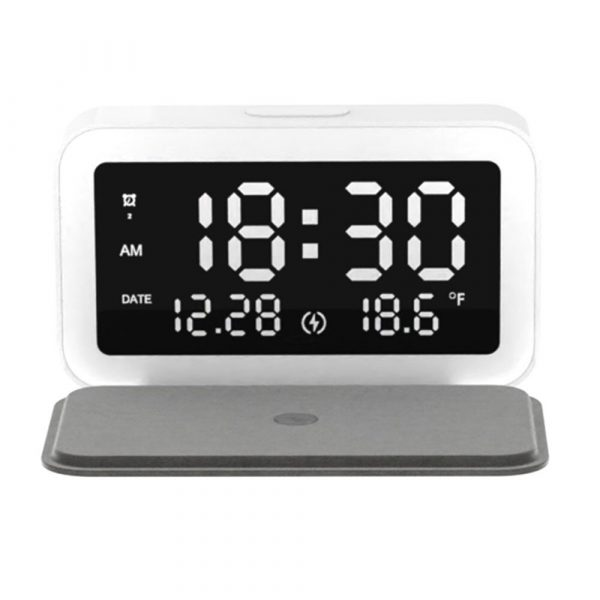 LED Digital Alarm Clock with Wireless Phone Charging Function_1