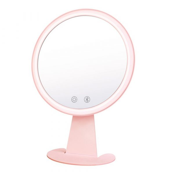 Professional Personal Makeup Mirror with Rechargeable LED Lights_1