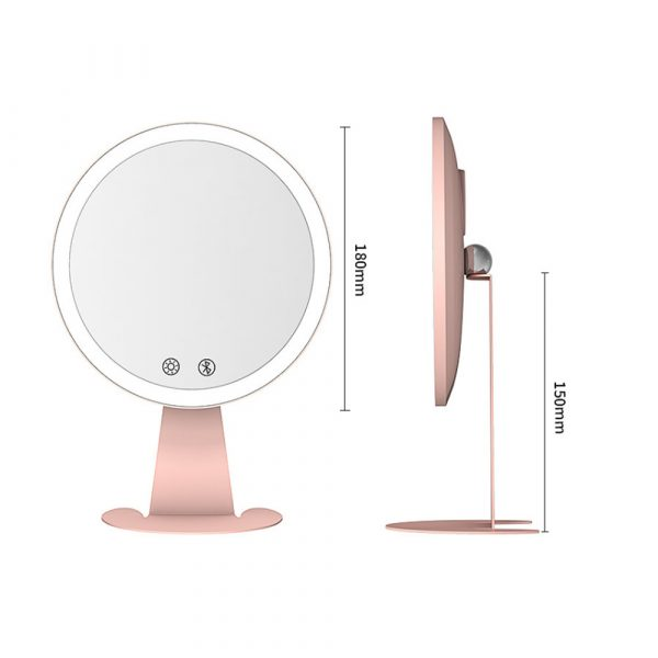 Professional Personal Makeup Mirror with Rechargeable LED Lights_11
