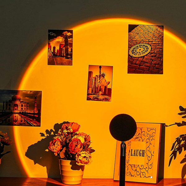 RGB Remote Controlled LED Sunlight Projector Room Decoration_1