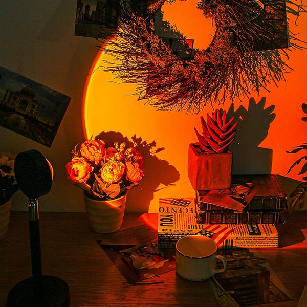 RGB Remote Controlled LED Sunlight Projector Room Decoration_2