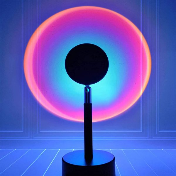 RGB Remote Controlled LED Sunlight Projector Room Decoration_13