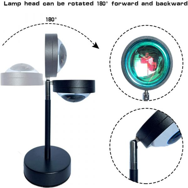 RGB Remote Controlled LED Sunlight Projector Room Decoration_6