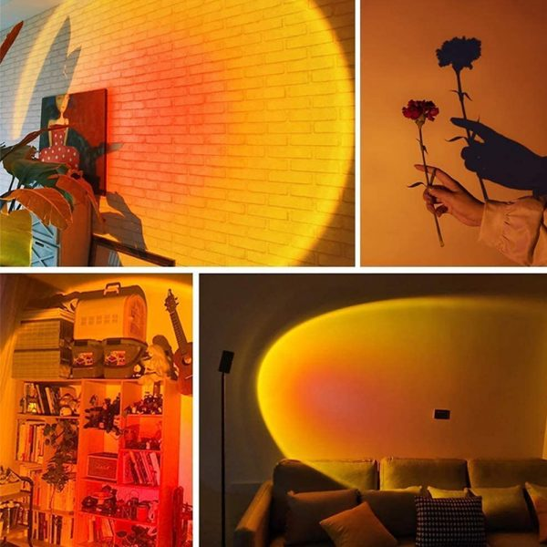 RGB Remote Controlled LED Sunlight Projector Room Decoration_10