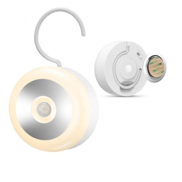 LED PIR Infrared and Motion Sensor Rechargeable Night Light_1