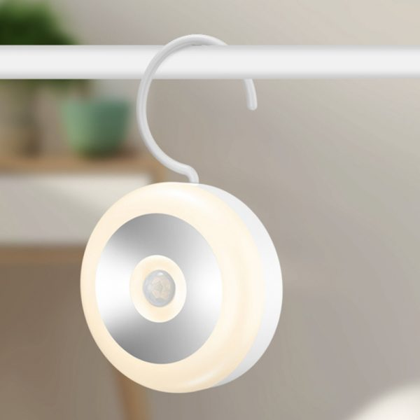 LED PIR Infrared and Motion Sensor Rechargeable Night Light_3