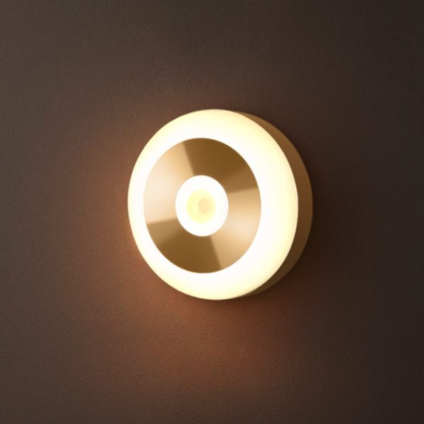 LED PIR Infrared and Motion Sensor Rechargeable Night Light_4
