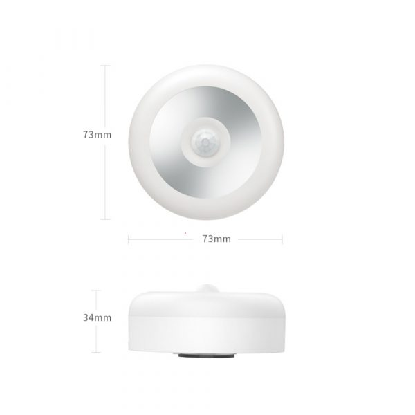 LED PIR Infrared and Motion Sensor Rechargeable Night Light_16