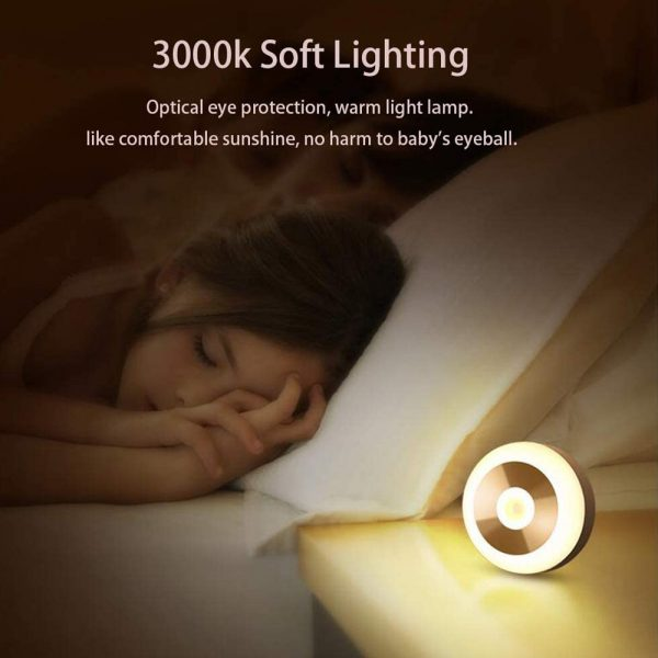 LED PIR Infrared and Motion Sensor Rechargeable Night Light_13