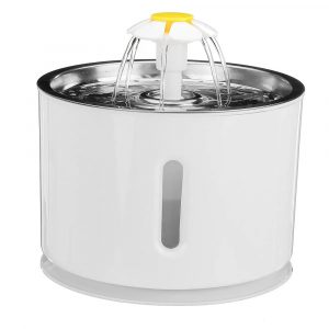 Automatic Pet Water Fountain with Pump and LED Indicator