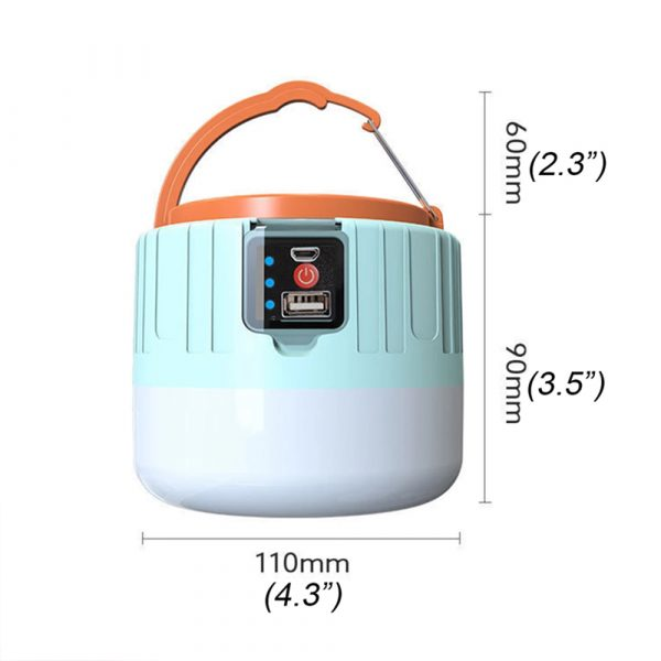 Rechargeable LED Camping Lantern and Emergency Light_8