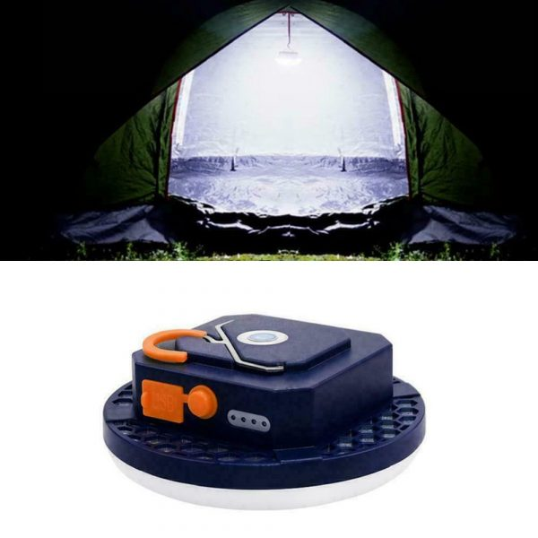 USB Rechargeable Portable Emergency Night Light Tent Lamp_5