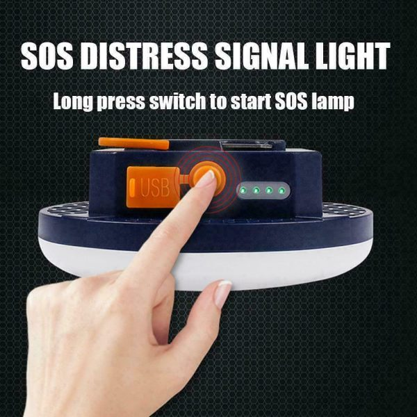 USB Rechargeable Portable Emergency Night Light Tent Lamp_10