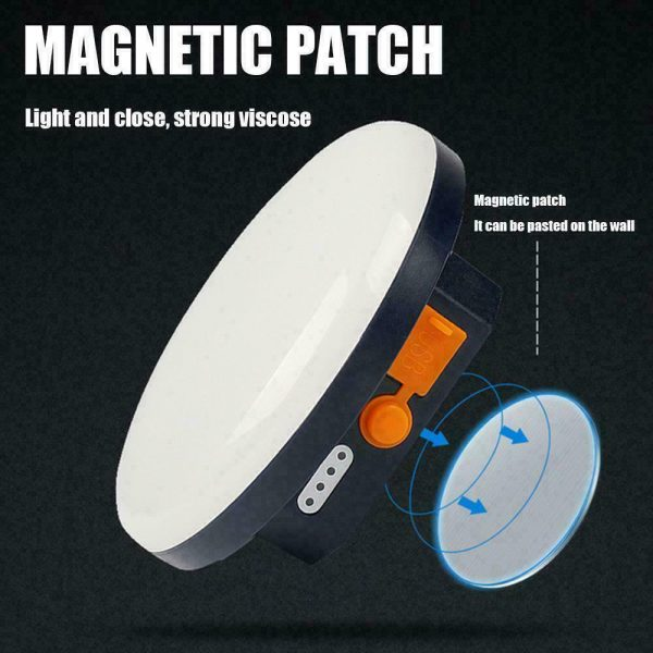 USB Rechargeable Portable Emergency Night Light Tent Lamp_11