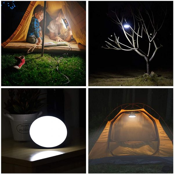 USB Rechargeable Portable Emergency Night Light Tent Lamp_14