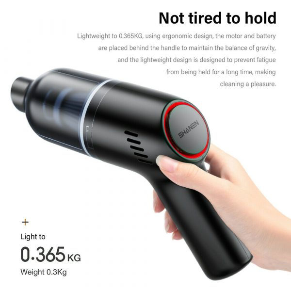 Portable Wireless Mini Car Vacuum Cleaner with Strong Suction_4