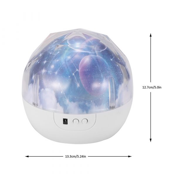 LED Night Lamp Projector Rotating Light with 5 Different Patterns_9