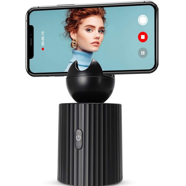 AI Smart Live Broadcast 360° with Face Recognition Phone Holder_2