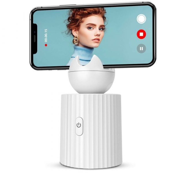 AI Smart Live Broadcast 360° with Face Recognition Phone Holder_3