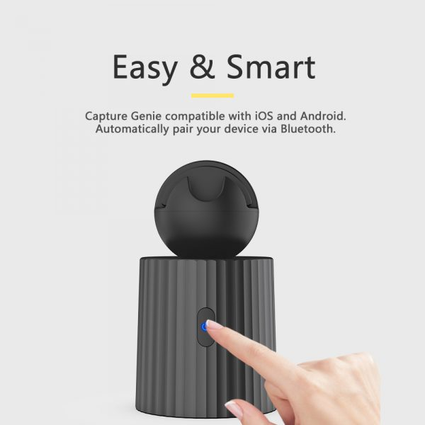 AI Smart Live Broadcast 360° with Face Recognition Phone Holder_13