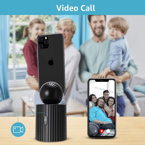 AI Smart Live Broadcast 360° with Face Recognition Phone Holder_5