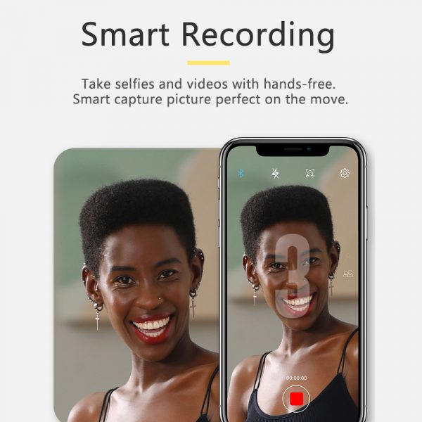 AI Smart Live Broadcast 360° with Face Recognition Phone Holder_10