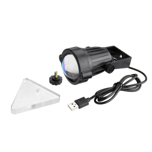 LED Multi-Color Sunset and Rainbow Spotlight Projector_2