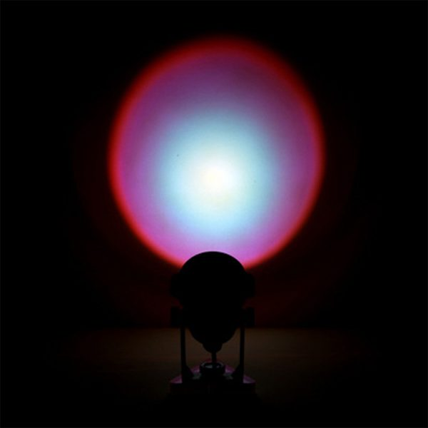LED Multi-Color Sunset and Rainbow Spotlight Projector_8