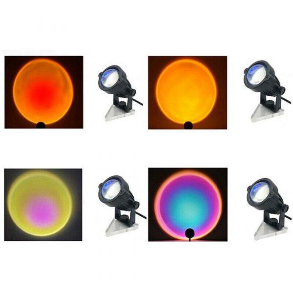 LED Multi-Color Sunset and Rainbow Spotlight Projector_16
