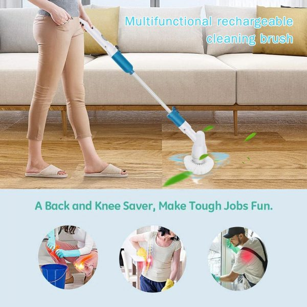 Rechargeable Cordless Turbo Power Electric Spin Scrubber_10
