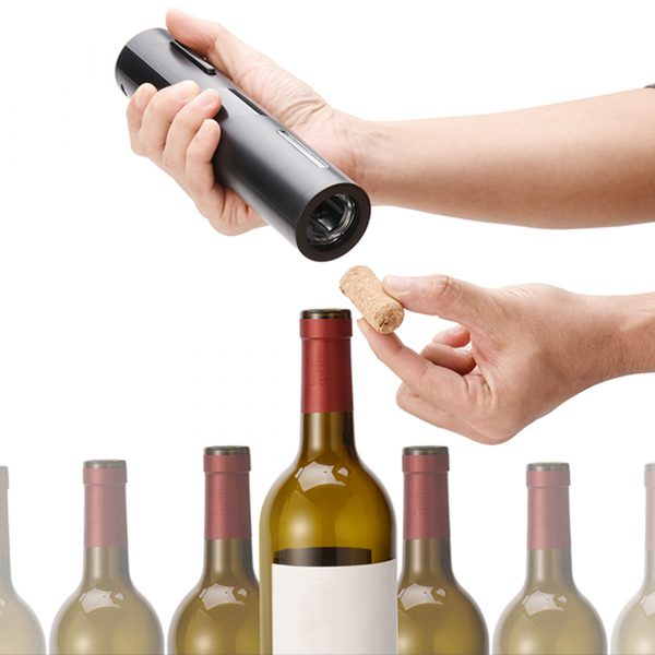 Battery Operated Electric Bottle and Wine Opener Automatic Corkscrew_2