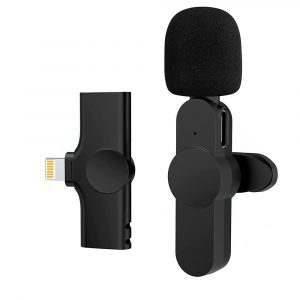 Plug-and-Play Wireless Microphone Portable Clip-on Mic