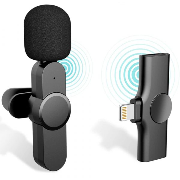 Plug-and-Play Wireless Microphone Portable Clip-on Mic_0